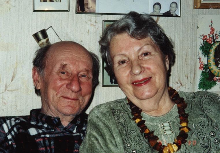 Ирина Степановна Гридчина и Юрий Сергеевич Гришмановский