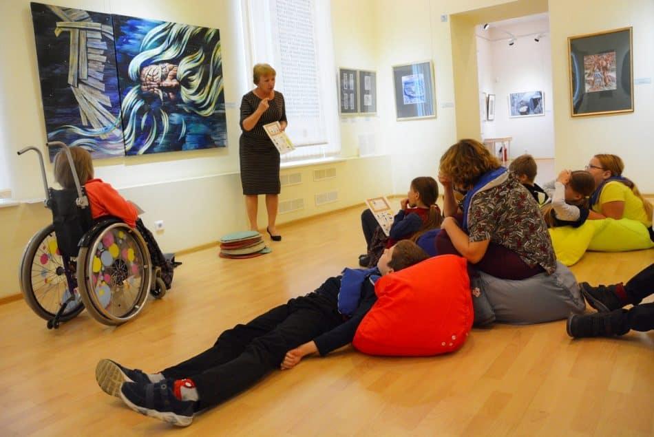 Проект Музея изобразительных искусств Карелии для людей с РАС. Фото Музея ИЗО РК