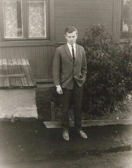 У нашего дома по улице Новосулажгорской, 1965 год