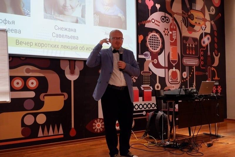 """Андрей Дикоев в проекте """"Арт-среда"""". Фото Ирины Ларионовой"""