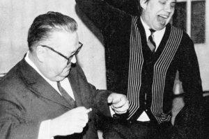 Гельмер Синисало и Игорь Смирнов. Из книги И. В. Смирнова «…танцует Карелия»