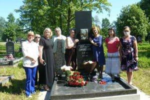 На могиле Синисало прозвучало адажио из его балета «Сампо»