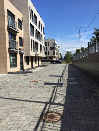 Улица Еремеева в Петрозаводске. Фото: Яна Жемойтелите