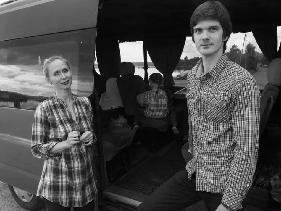 Елена Магницкая и Денис Козлов. Фото Ирины Ларионовой