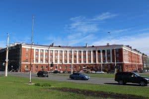 Дом на площади Гагрина. Фото из группы Администрации Петрозаводска: vk.com/ptz_mo