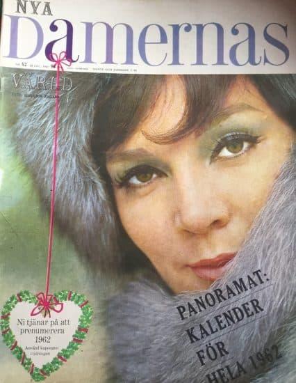 Обложка журнала. Декабрь 1961 года