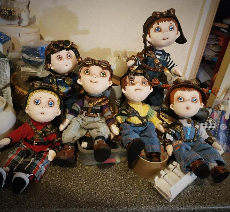 Куклы Снежаны Савельевой для нового спектакля