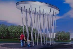 Архитектор Евгений Таев. Эскиз Зарецкого  парка в Петрозаводске