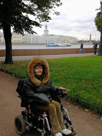 Анна Яблокова в Санкт-Петербурге