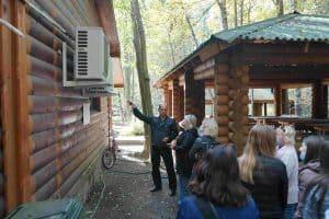 Студенты ПетрГУ изучали зелёные технологии в сфере туризма