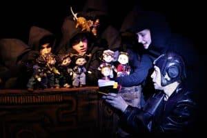 """Сцена из спектакля """"Маленький Принц и Братство Розы"""". Фото из группы vk.com/karelia_theater_school"""
