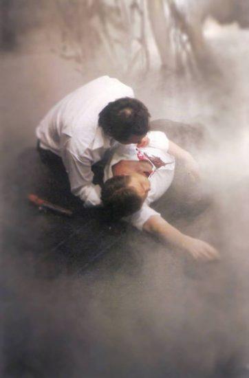 Сцена из оперы «Евгений Онегин». Театр Statna Opera (Банска-Быстрица, Словакия)