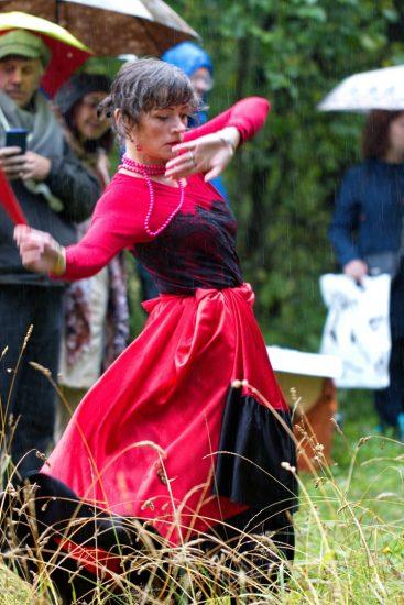 Фламенко как символ Цветаевского костра в исполнении Евгении Павловой