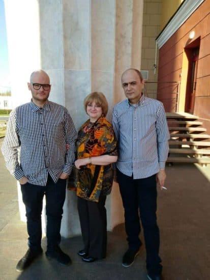 Тенгиз и Янина с сыном Георгием. Фото из семейного архива