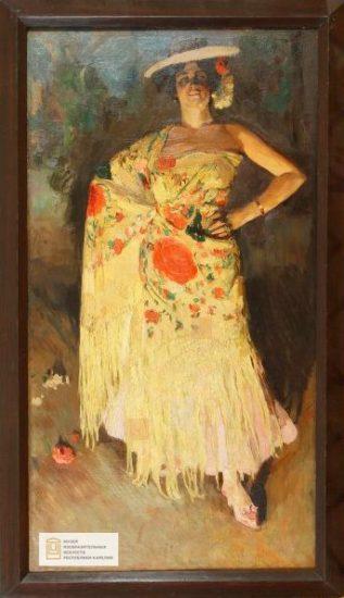 С.А. Виноградов, «Испанская танцовщица (Отеро)», 1903 год