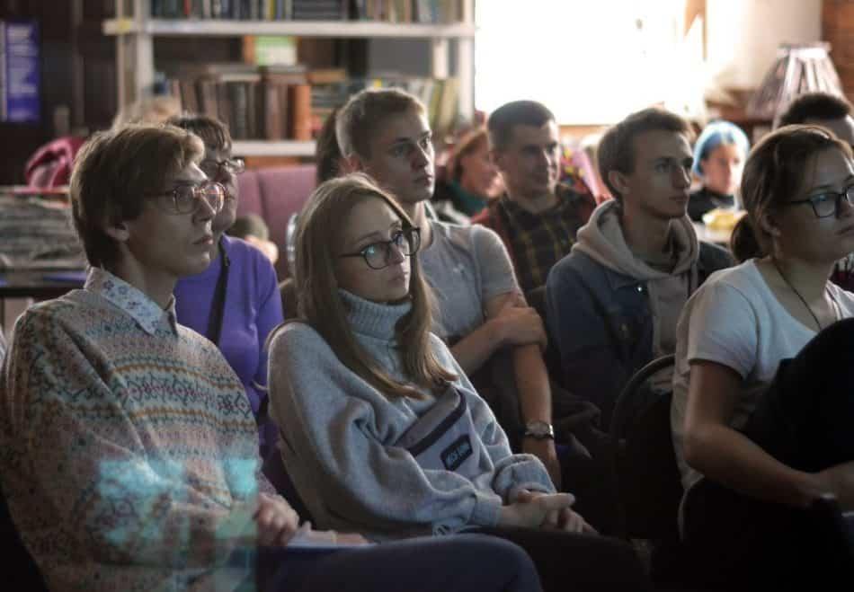 """На фестивале польского кино """"Висла"""" в Петрозаводске. Фото : Аля Грач"""