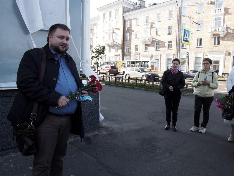 Министр культуры Карелии Алексей Лесонен