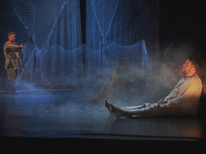 Премьера спектакля «Голомяное пламя». Фото Ирины Ларионовой
