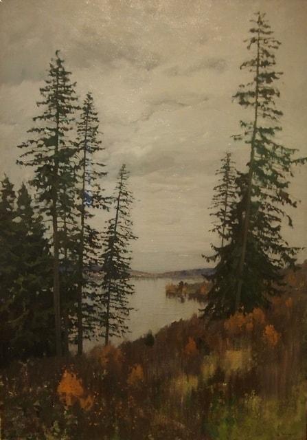 Исаак Левитан. На севере. 1896. Из коллекции Государственной Третьяковской галереи