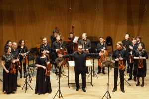 Алексей Кубышкин  и Камерный оркестр Петрозаводской консерватории