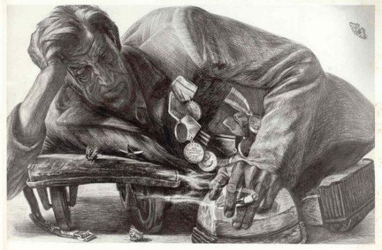 Геннадий Добров. Из цикла «Автографы войны». 19974