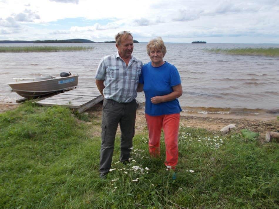 Супруги Морозовы