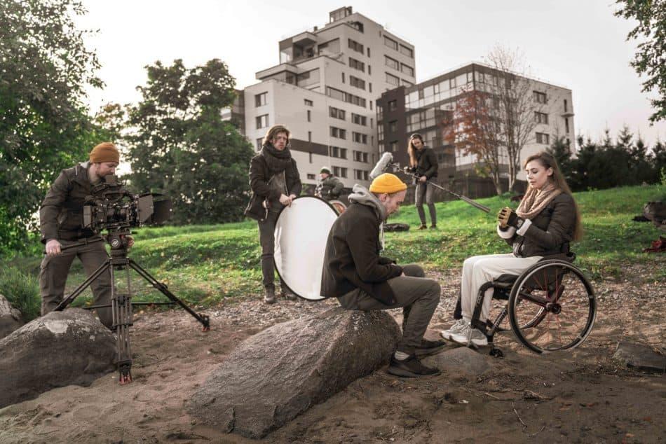 В Карелии снимают черную комедию про инвалидность
