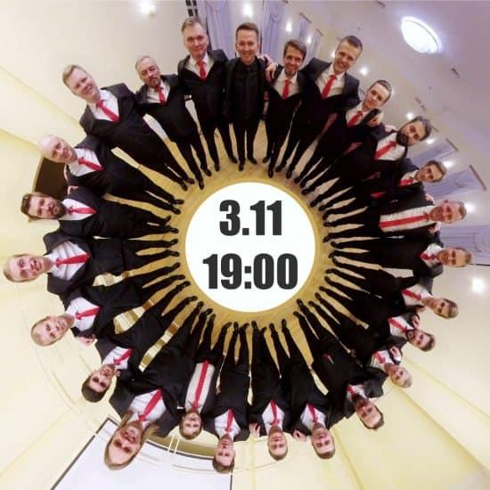 Мужской хор Карелии в Ночь искусство даст отчетный концерт