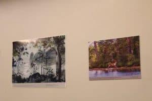 Шведские школьники познакомились с работами карельских художников и фотографов