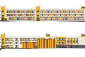 Проект новой школы в Деревянке