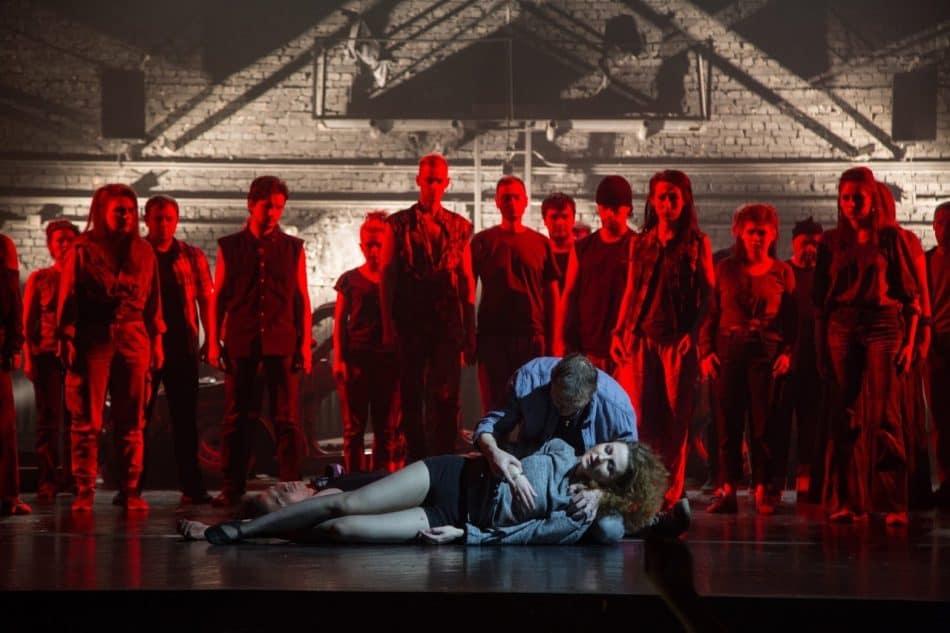 """Опера """"Алеко"""" в Музыкальном театре Карелии. Фото Виталия Голубева"""