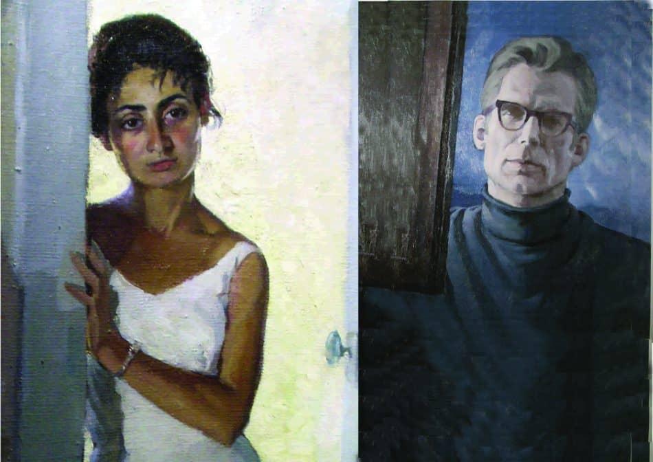 Нелли и Фолке. (Автопортрет)
