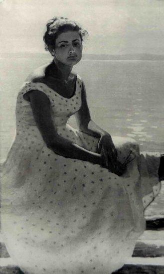 Фолке Ниеминен. Женщина в белом