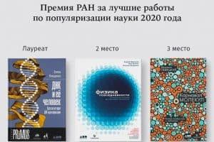 РАН выбрала лучшие научно-популярные книги 2020 года