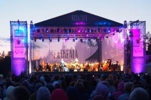 На фестивале Ruskeala Symphony. Фото Ирины Ларионовой
