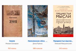 В читательском голосовании премии «Большая книга» победил Михаил Елизаров