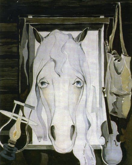 Александр Харитонов. Белая лошадь. 1979