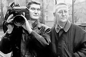 Александр Колобов (справа) со своим верным и надежным другом Виктором Яроцким работал и в Карелии, и в Чечне