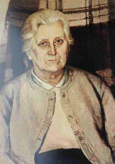 Портрет Свеи Стааф, матери художника