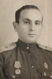 Исаак Фрадков. 1945