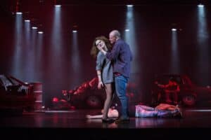 Сцена из оперы «Алеко». Фото Музыкального театра РК