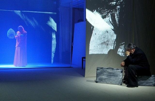 Сцена из спектакля «Матрёнин двор». Фото Ирины Ларионовой