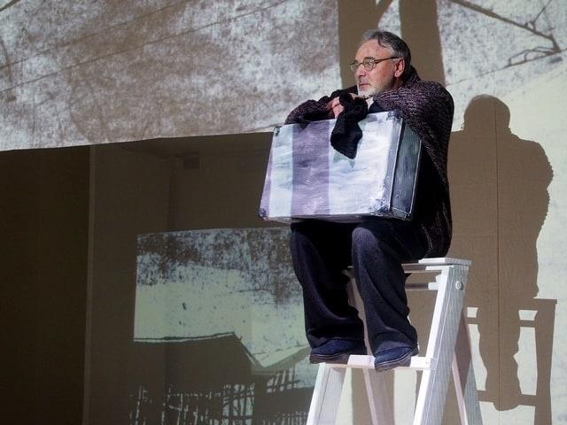 Валерий Баулин в спектакле «Матрёнин двор». Фото Ирины Ларионовой