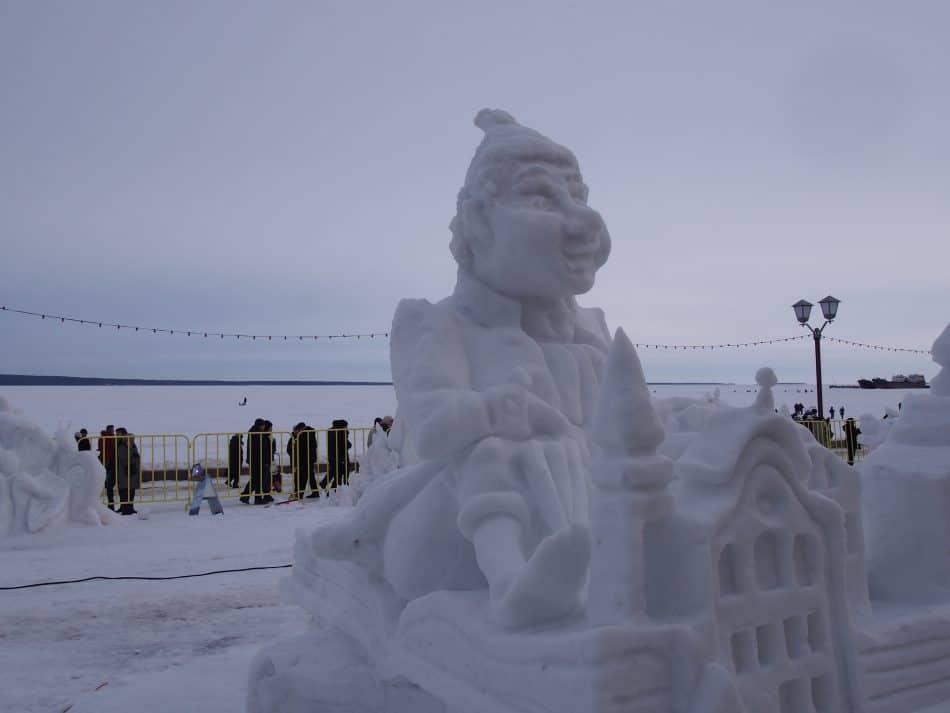 «Гиперборея — 2021»: Принимаются заявки на XX Международный конкурс снежных и ледовых скульптур