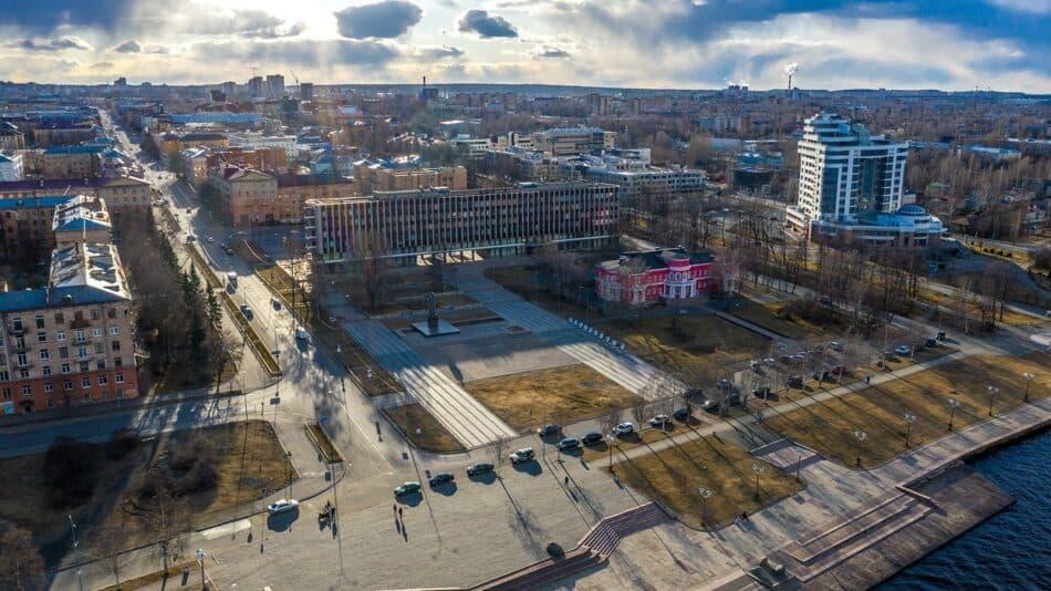 Петрозаводск. Фото Администрации Петрозаводского городского округа