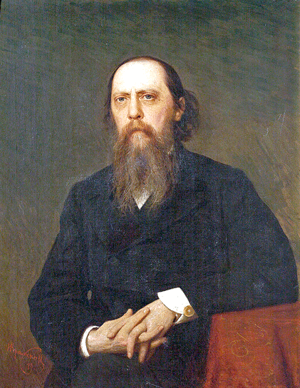 М.Е.Салтыков-Щедрин'. Работа Ивана Крамского. 1879 год / Wikimedia