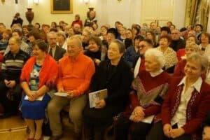На презентации первой книги «Сродники. Мы из Заонежья» в Национальном музее Карелии 16 января 2016 года. Фото Ирины Ларионовой