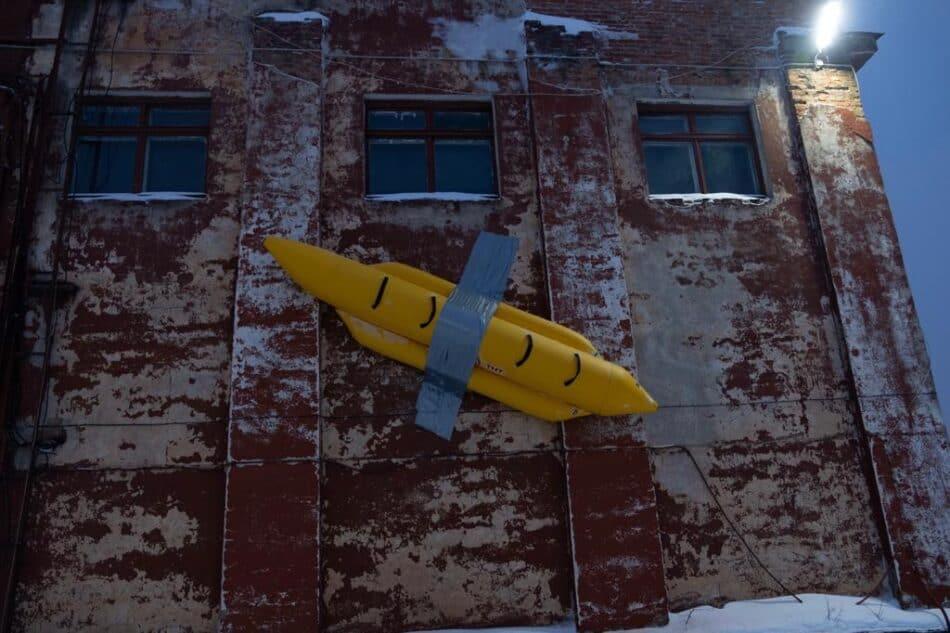 Петрозаводск. Арт-объект, символизирующий отпуск