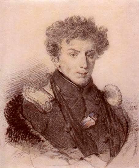 Александр Полторацкий в 1814 г. Рис. П. Соколова