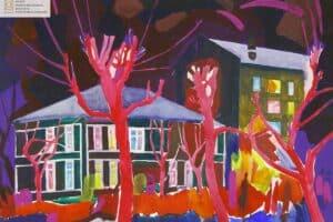 Александр Харитоно. Красные деревья